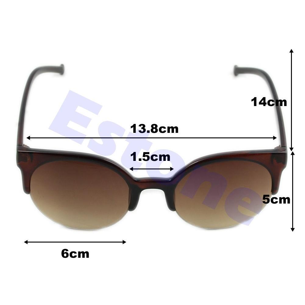 8ca31d9726b74 óculos de sol gato gatinho cat eye redondo marrom. Carregando zoom.