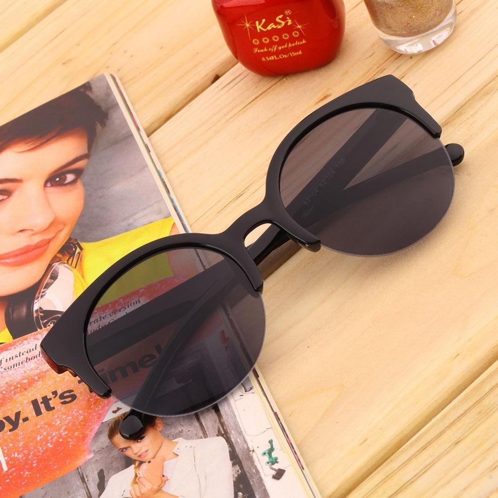 671edbce7a96d óculos de sol gato gatinho cat eye redondo proteção uv. Carregando zoom.