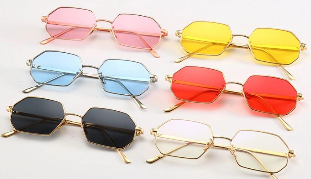 b52462003069e óculos de sol geométrico com proteção uv400 promoção. Carregando zoom.