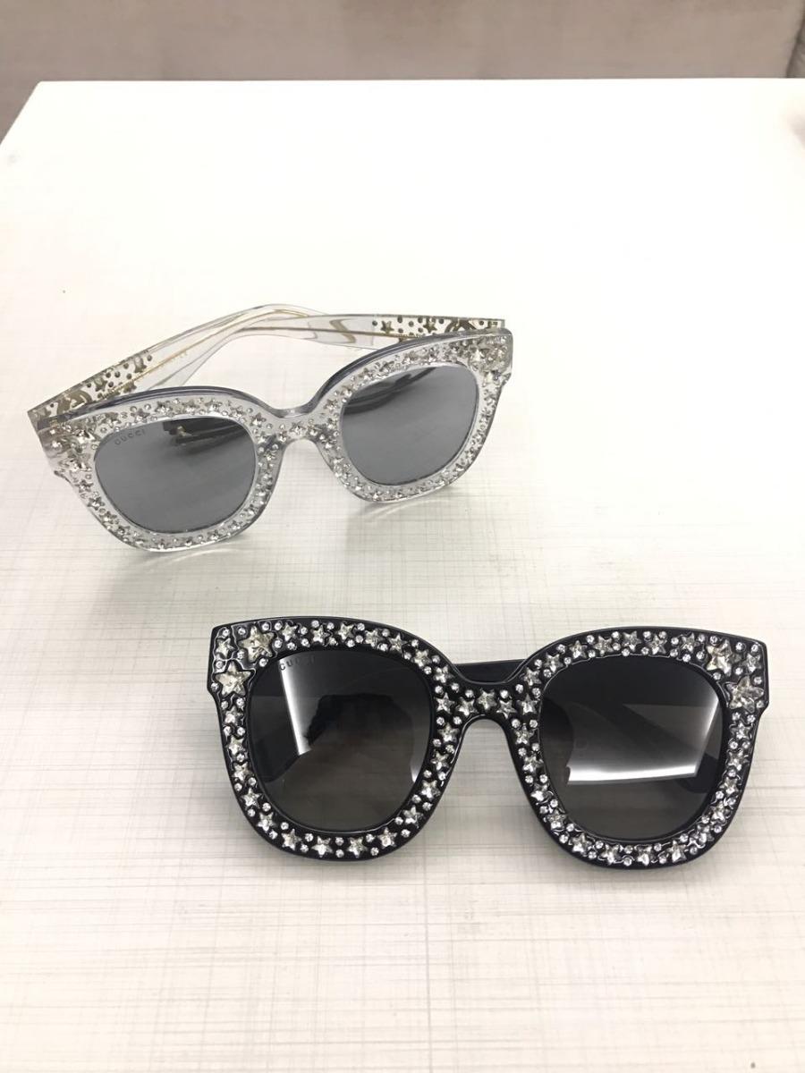0c8ab8c9a1 oculos de sol gliter gucci importado bruna markezine neymar. Carregando  zoom.