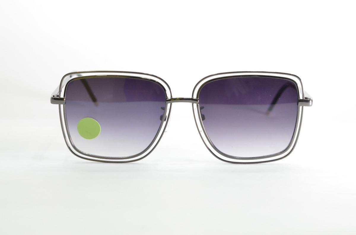 ddf0551a27db2 óculos de sol grafite feminino lente degrade quadrado degrad. Carregando  zoom.