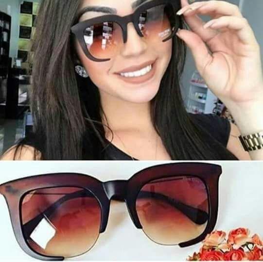 Óculos De Sol Grande Feminino Degrade Aberto Promoção - R  42,90 em ... d86747b7ef