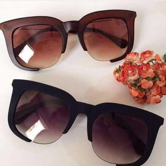 Óculos De Sol Grande Feminino Degrade Aberto Promoção Oferta - R  39 ... 0229f25842