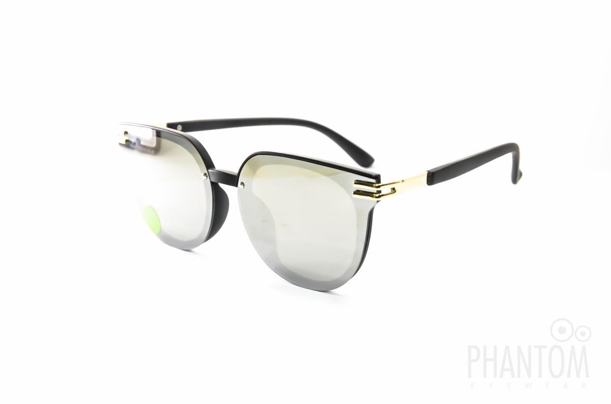 caa14812196b8 Oculos De Sol Grande Redondo Espelhado Prata Moda 2018 - R  79,99 em ...
