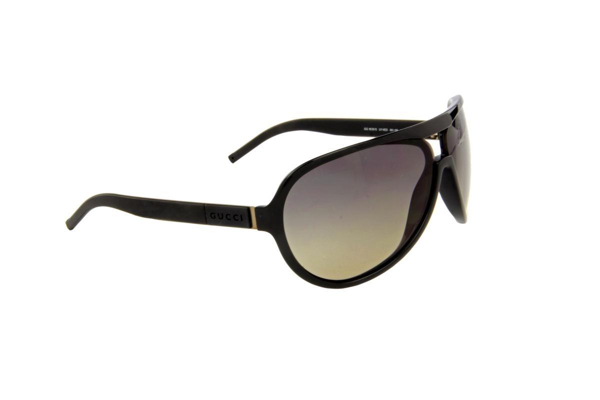 9dcbfb3247681 Óculos De Sol Gucci 100% Proteção U.v. Ópticas Melani Marrom - R ...