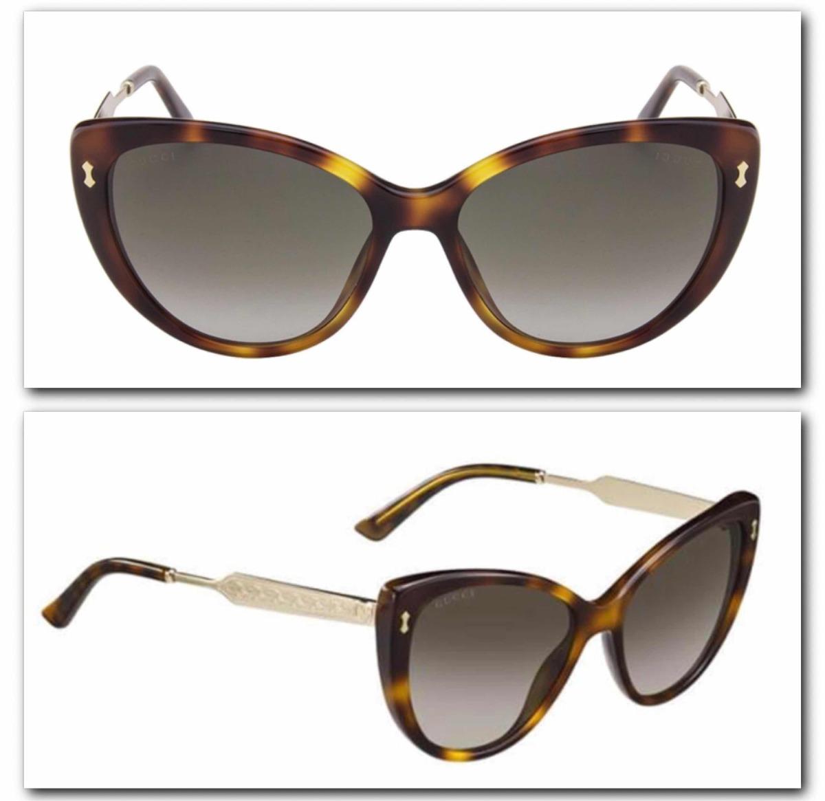 a67fc425c41dc Óculos De Sol Gucci - R  950,00 em Mercado Livre