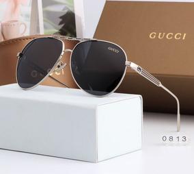 f8943f8dc Oculos Gucci Aviador - Calçados, Roupas e Bolsas no Mercado Livre Brasil