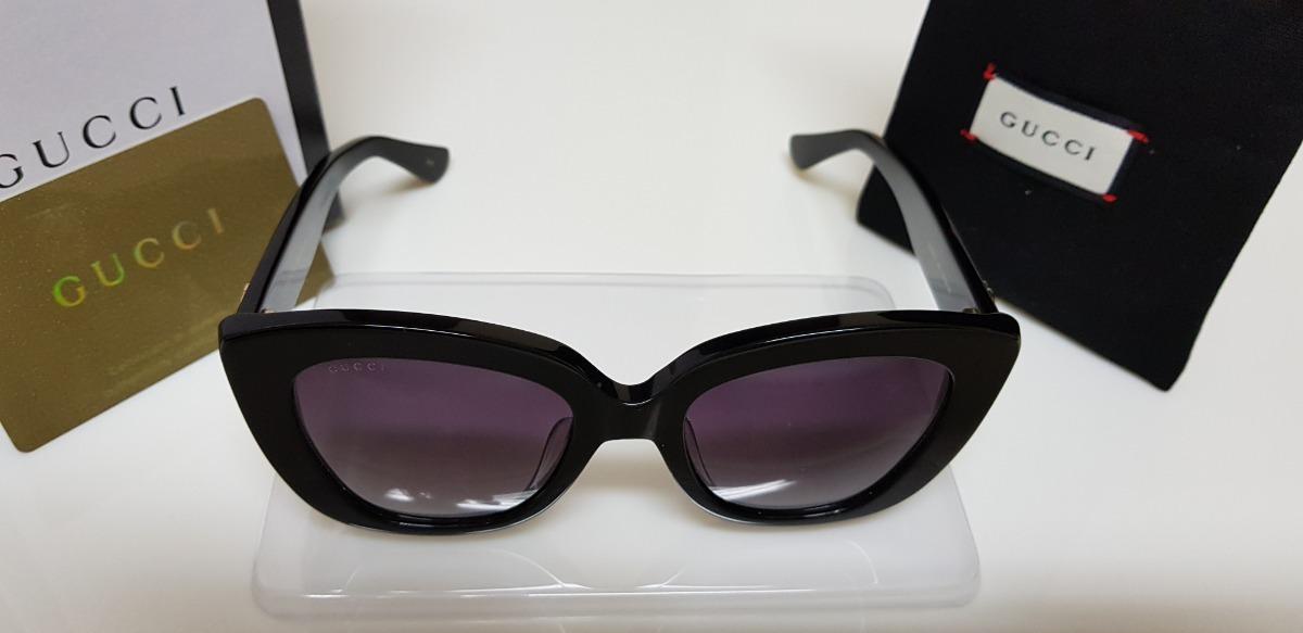 Óculos De Sol Gucci Gc0327s Preto E Lentes Cinza Original. - R  590,00 em  Mercado Livre e738857132