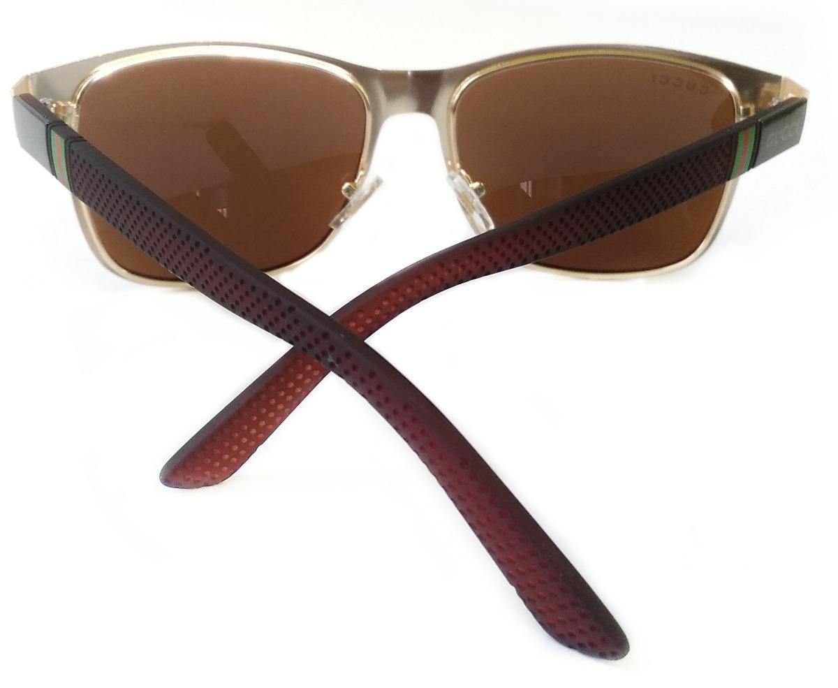 3e3d9f7f32bf6 Oculos De Sol Gucci Importado - Envio Em 24h - C  Brinde - R  99