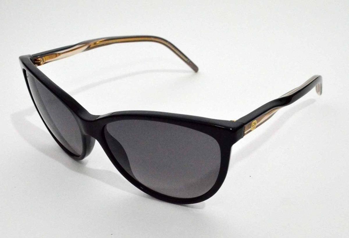 2a741b830ae15 Óculos De Sol Gucci Preto Gg3641 Médio - R  934,00 em Mercado Livre