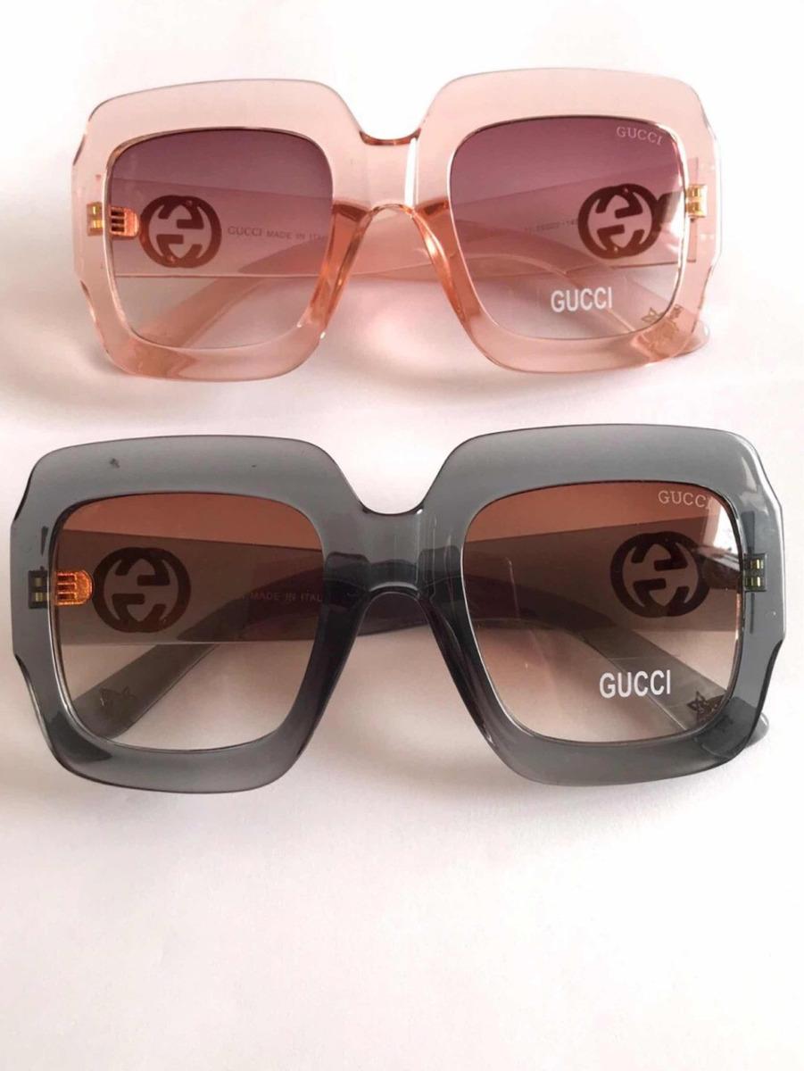 25c8a500d9def Óculos De Sol Gucci Quadrado 1 - R  148,00 em Mercado Livre