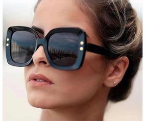 9d2050f5a Oculos De Sol Feminino Quadrado Degrade Gucci - Óculos no Mercado ...