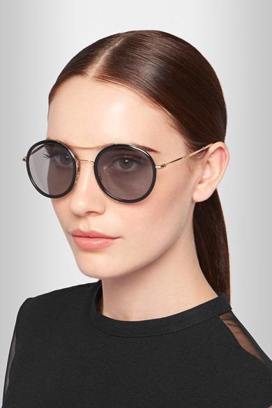 Óculos De Sol Gucci Round Frame Feminino - Pronta Entrega - R  699 ... fac7c096de