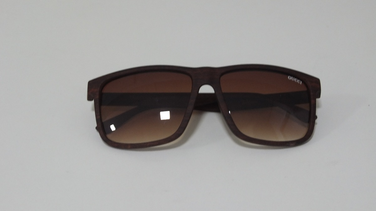 ... óculos de sol gucci unisex marrom modelo novo mega promoção. Carregando  zoom. c0d873aa4a