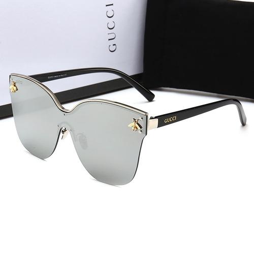 Oculos De Sol Gucci2 203 Mulher + Acessórios Moda 2018 - R  421,50 ... 26d11d456b