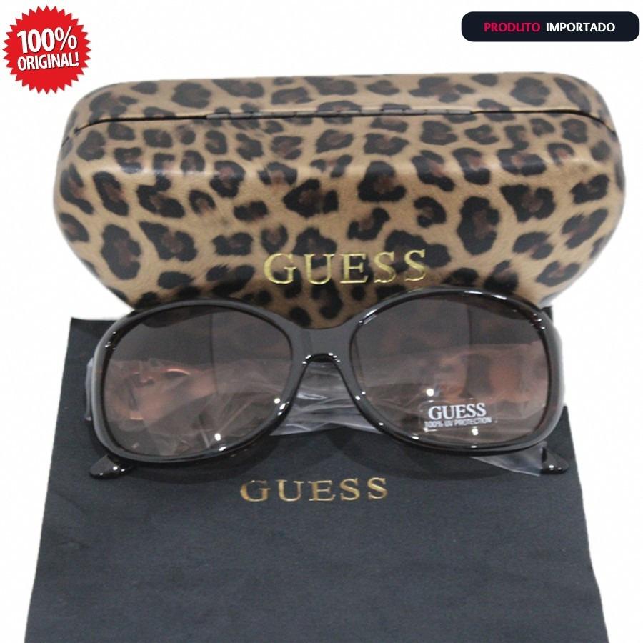 553dc27ddcf8a Oculos De Sol Guess Feminino Original Importado Com Caixa - R  269 ...