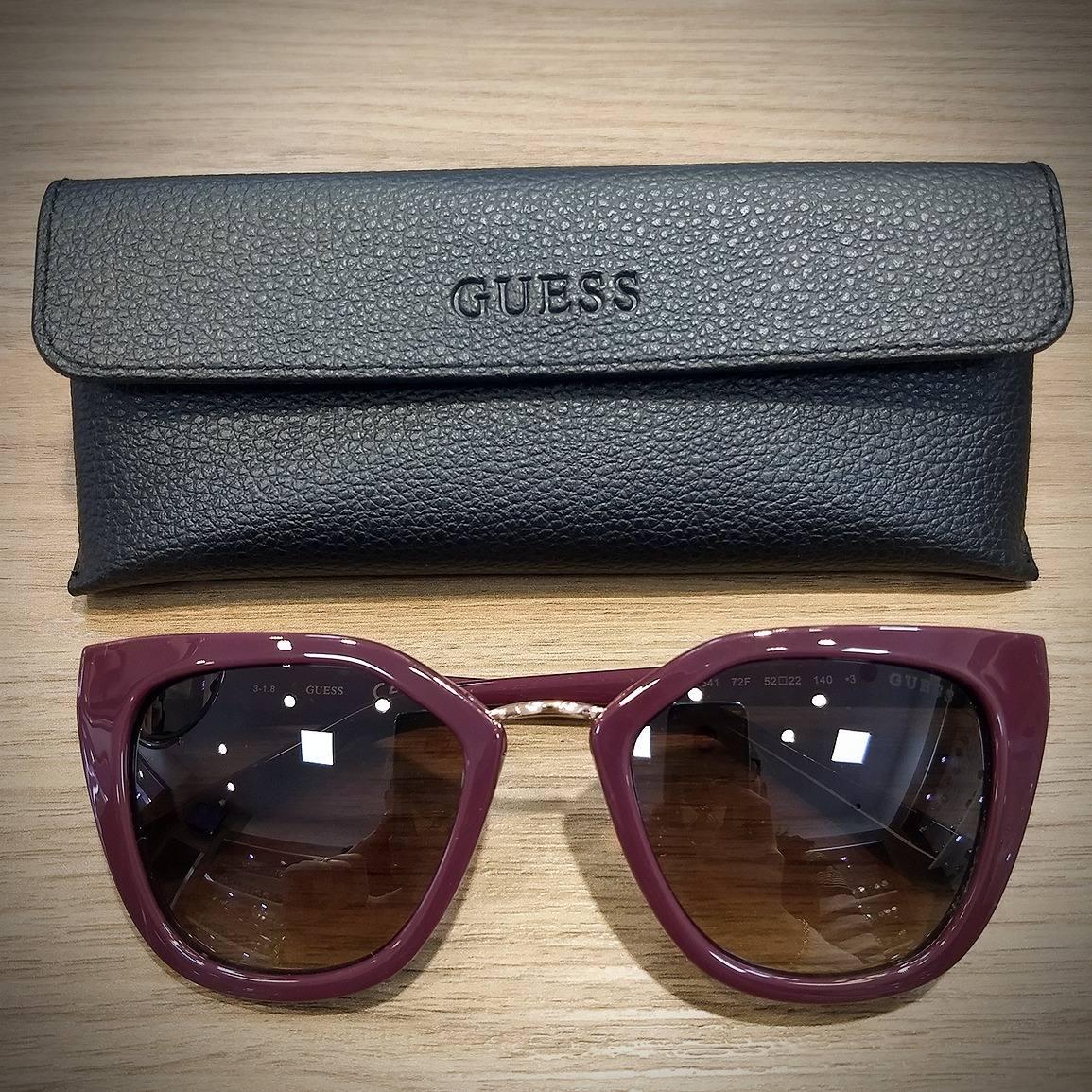 Oculos De Sol Guess Gu7541 Original Com Nf - R  599,00 em Mercado Livre 0f6d4494c0
