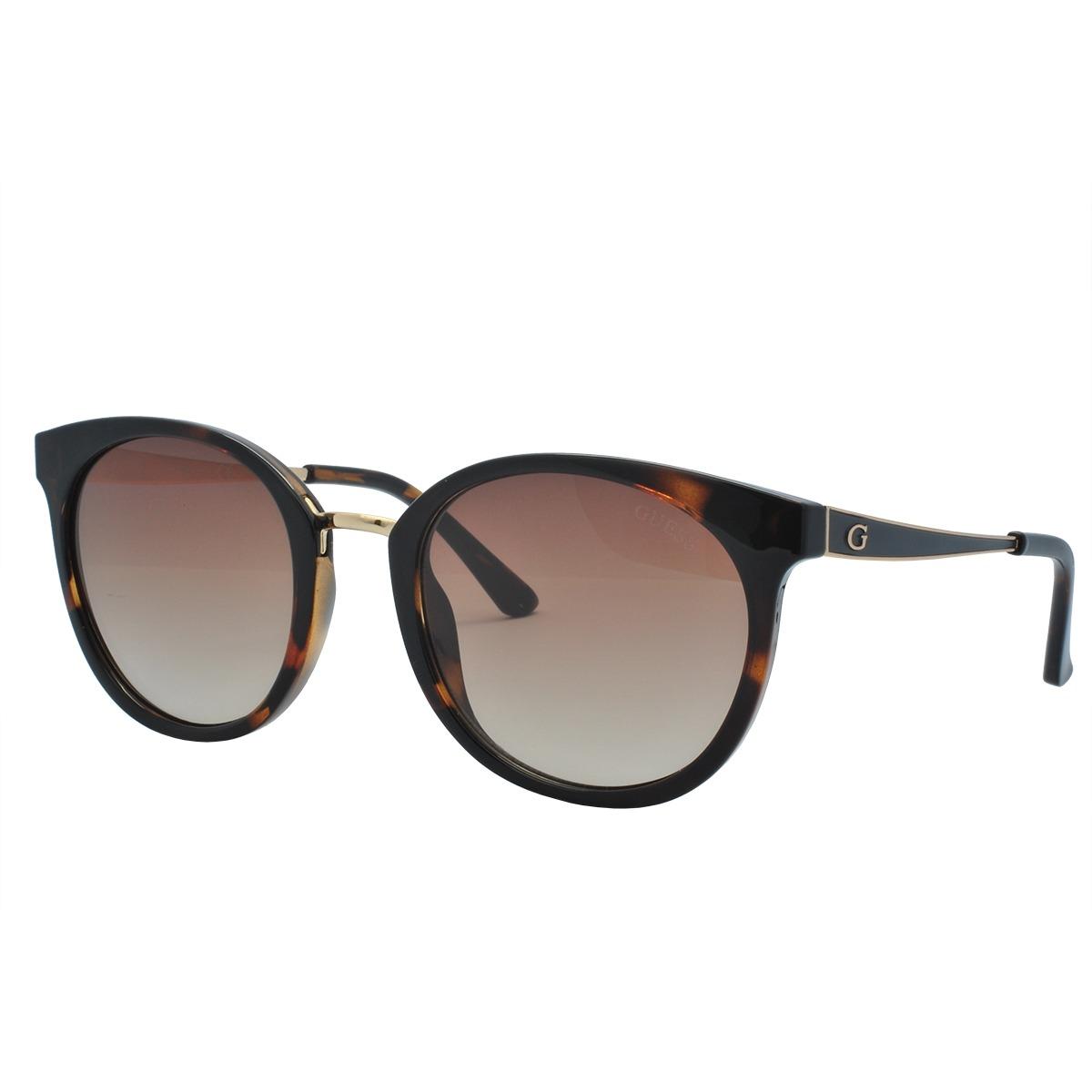 ba12b63912a96 Óculos De Sol Guess Original Feminino Gu7459 52f - R  362