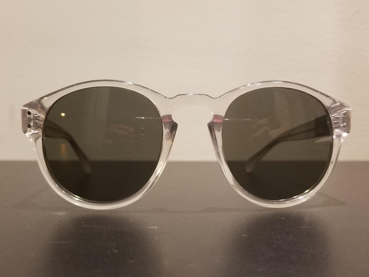 52d9ee770 óculos de sol guess transparente redondo round - original. Carregando zoom.