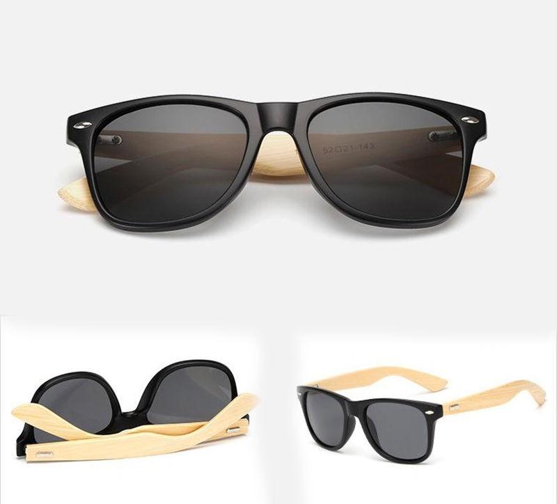 óculos de sol haste madeira bambu unissex famosos panicat. Carregando zoom. ee9b7255d9