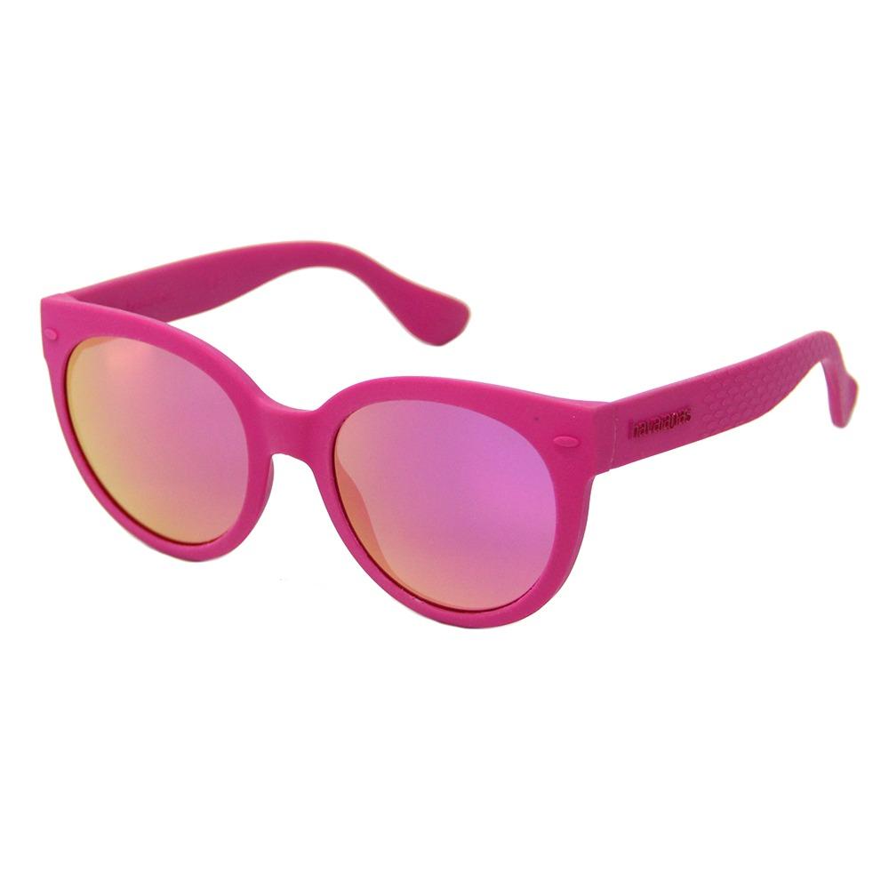 óculos de sol havaianas noronha m feminino rosa espelhado. Carregando zoom. 5cbbd8b829