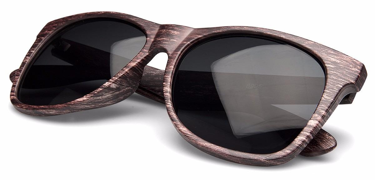 c5cea7279 óculos de sol hayat masculino quadrado marrom +brinde yc3071. Carregando  zoom.