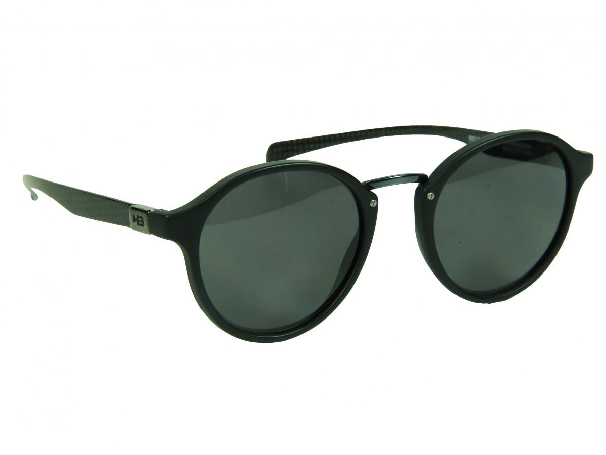 b3554faec077c Óculos De Sol Hb Brighton Gray Lenses - Carbon black Matte - - R ...
