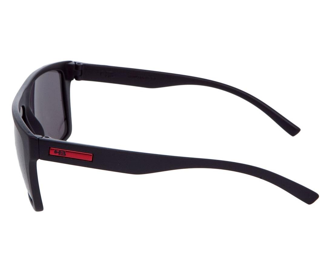 05cee31d5 óculos de sol hb floyd matte black d. red | gray 9011770200. Carregando zoom .