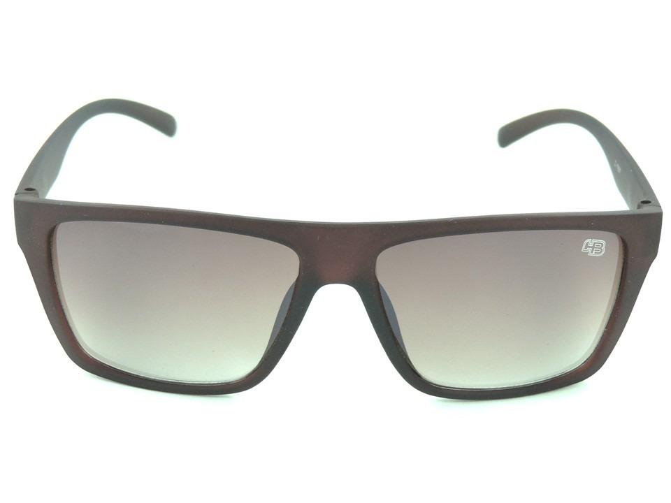beff10ce98157 óculos de sol hb floyd matte marrom masculino proteção uv400. Carregando  zoom.