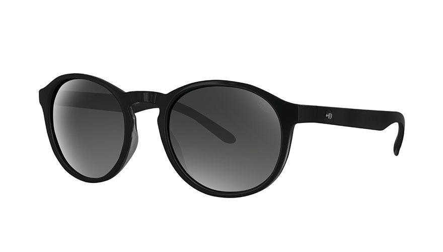 óculos de sol hb gatsby gloss black gradient gray lenses. Carregando zoom. 80cb59c49b