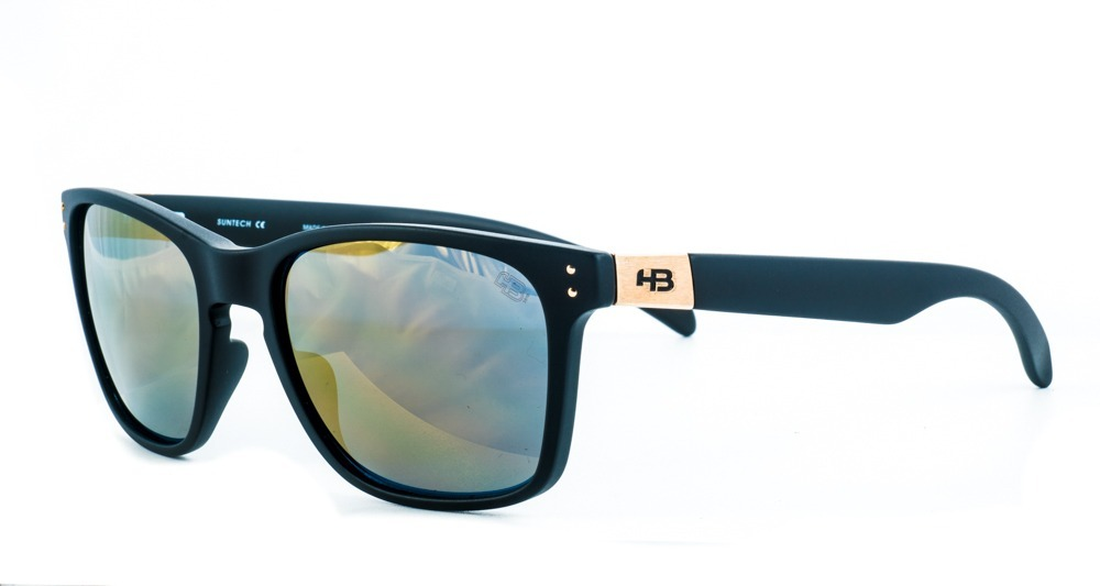 fd65a38f5 óculos de sol hb gipps il preto dourado original c/ garantia. Carregando  zoom.
