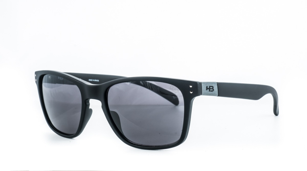 1c003c8f6 óculos de sol hb gipps il preto fosco original c/ garantia. Carregando zoom.