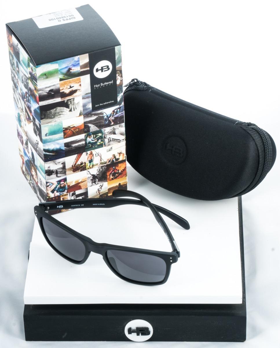 ab018046716d4 óculos de sol hb gipps il preto fosco original c  garantia. Carregando zoom.