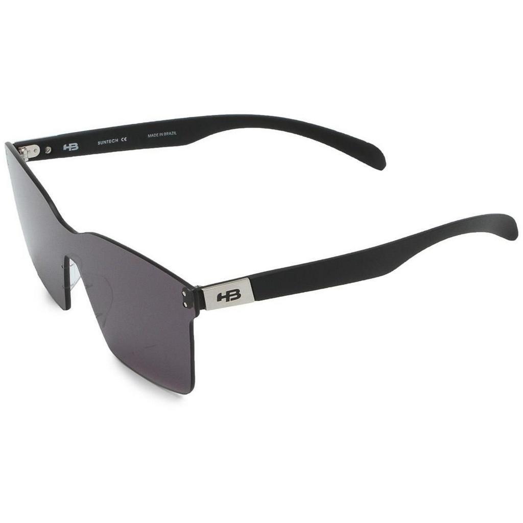 Óculos De Sol Hb Nevermind Mask Matte Black   Gray - R  200,48 em ... 5bdd1f502c
