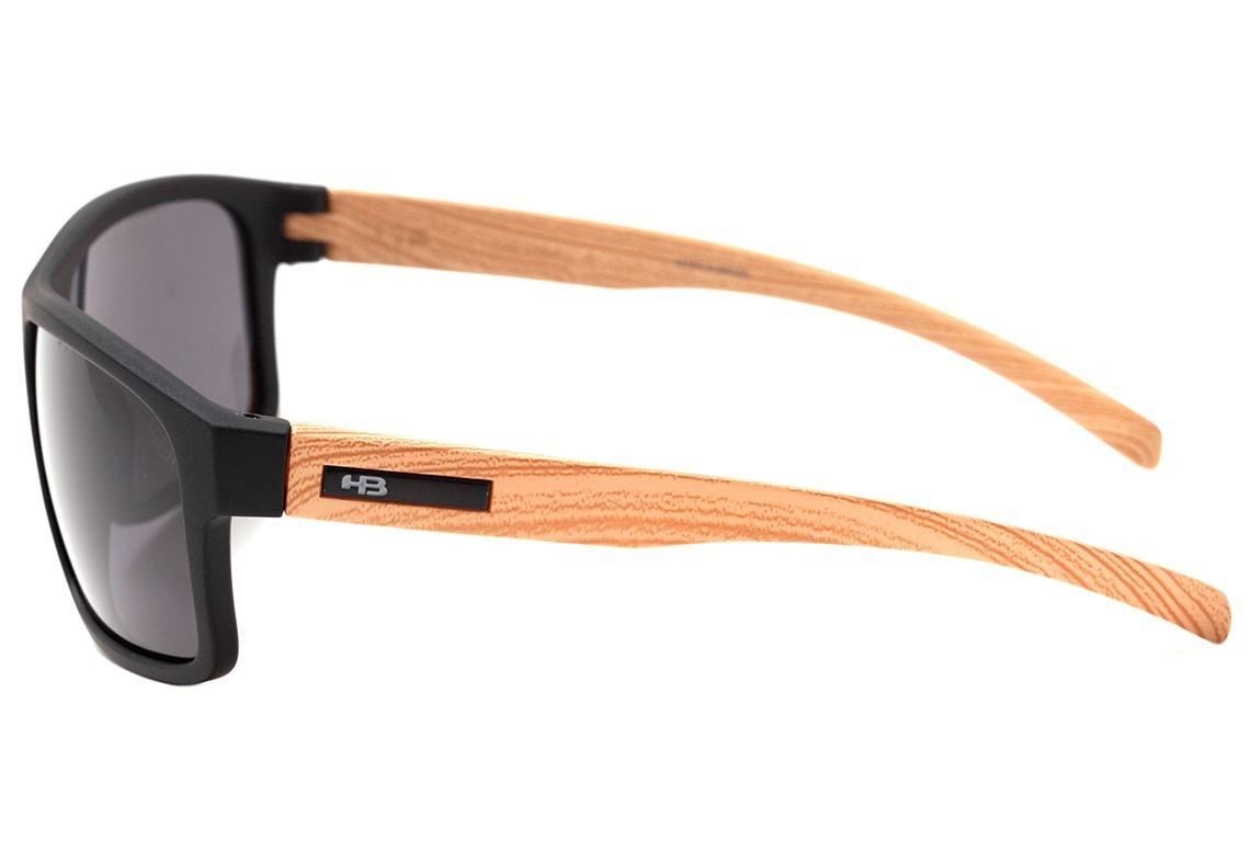 e334da159 óculos de sol hb overkill matte black wood i gray 9014273100. Carregando  zoom.