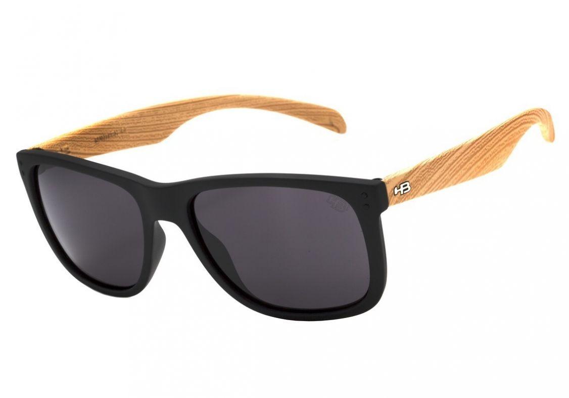 cada8a275 Óculos De Sol Hb Ozzie 90140 731 Preto / Madeira - Original - R$ 310 ...