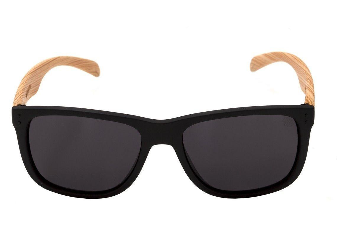 a189fcf00 Óculos De Sol Hb Ozzie Matte Black/wood Original (nf) - R$ 259,90 em ...