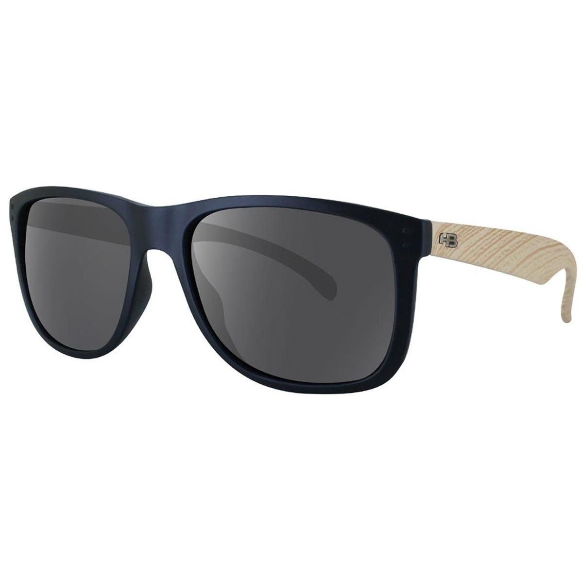 e32859a46 Óculos De Sol Hb Ozzie - Matte/black/wood - R$ 227,00 em Mercado Livre
