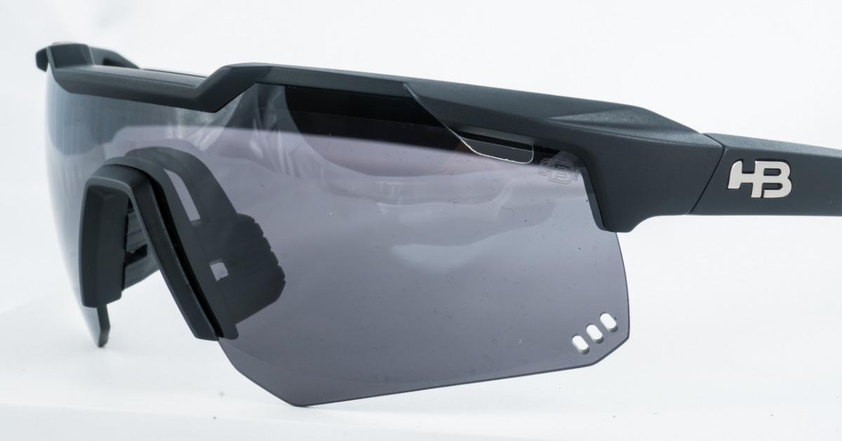 ac60cf412 óculos de sol hb shield bike preto fosco original garantia. Carregando zoom.