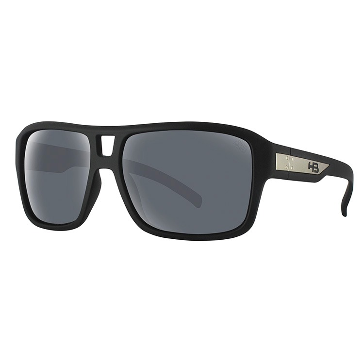 08012a5e8 Óculos De Sol Hb Storm Matte - Preto - R$ 205,00 em Mercado Livre