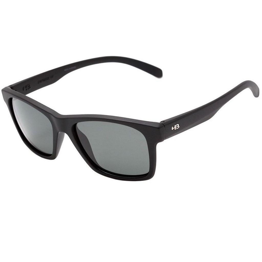 óculos de sol hb unafraid matte black   polarized gray. Carregando zoom. fd0ea555e8