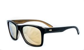58d77b1c9 Óculos De Sol Hb Unafraid Preto Dourado Polarizado Original