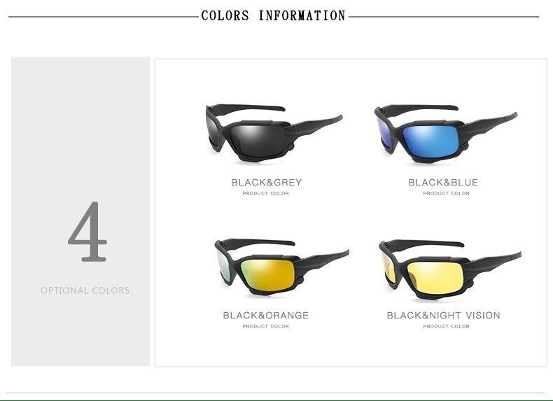 37f27c60b2f2d Óculos De Sol Hd Polarizado Esporte Unissex Promoção - R  80