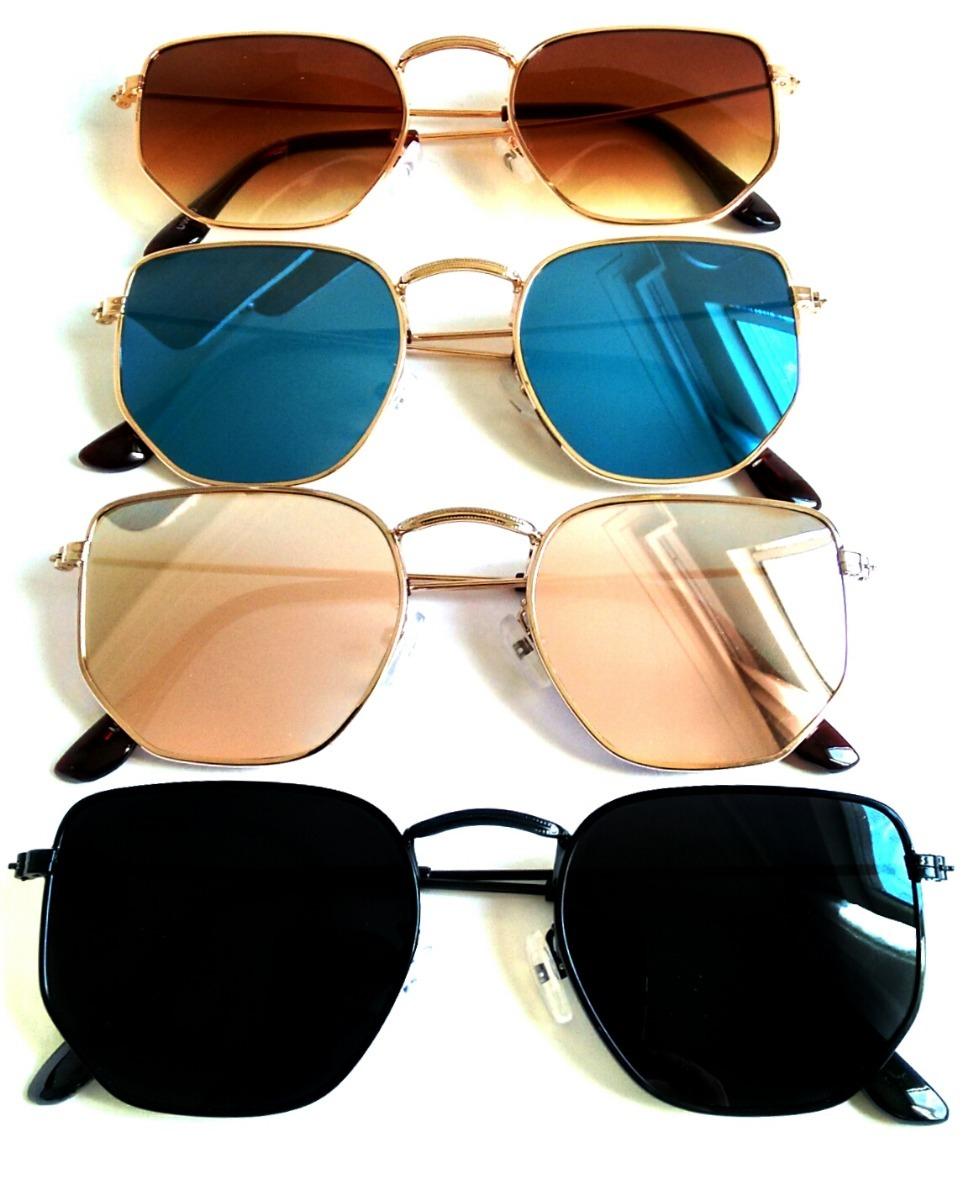 9e3b9e9ecf7e9 óculos de sol hexagonal feminino proteção uv verão 2019. Carregando zoom.