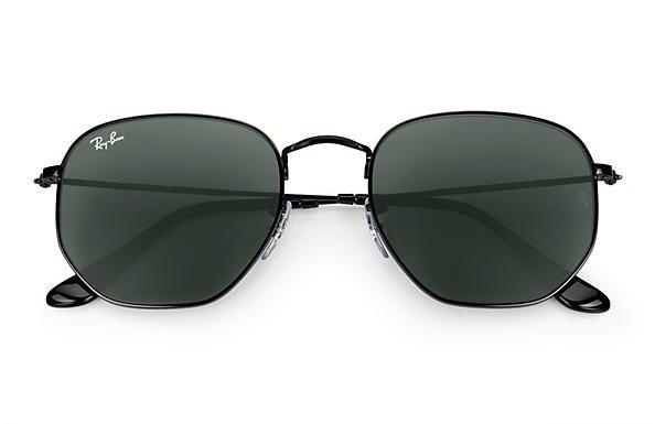Oculos De Sol Hexagonal Preto Masculino Feminino Lançamento - R  69 ... b76fdba203