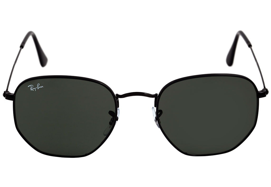 oculos de sol hexagonal preto rb3548 verão 2018 quadrado. Carregando zoom. 63b1071d34