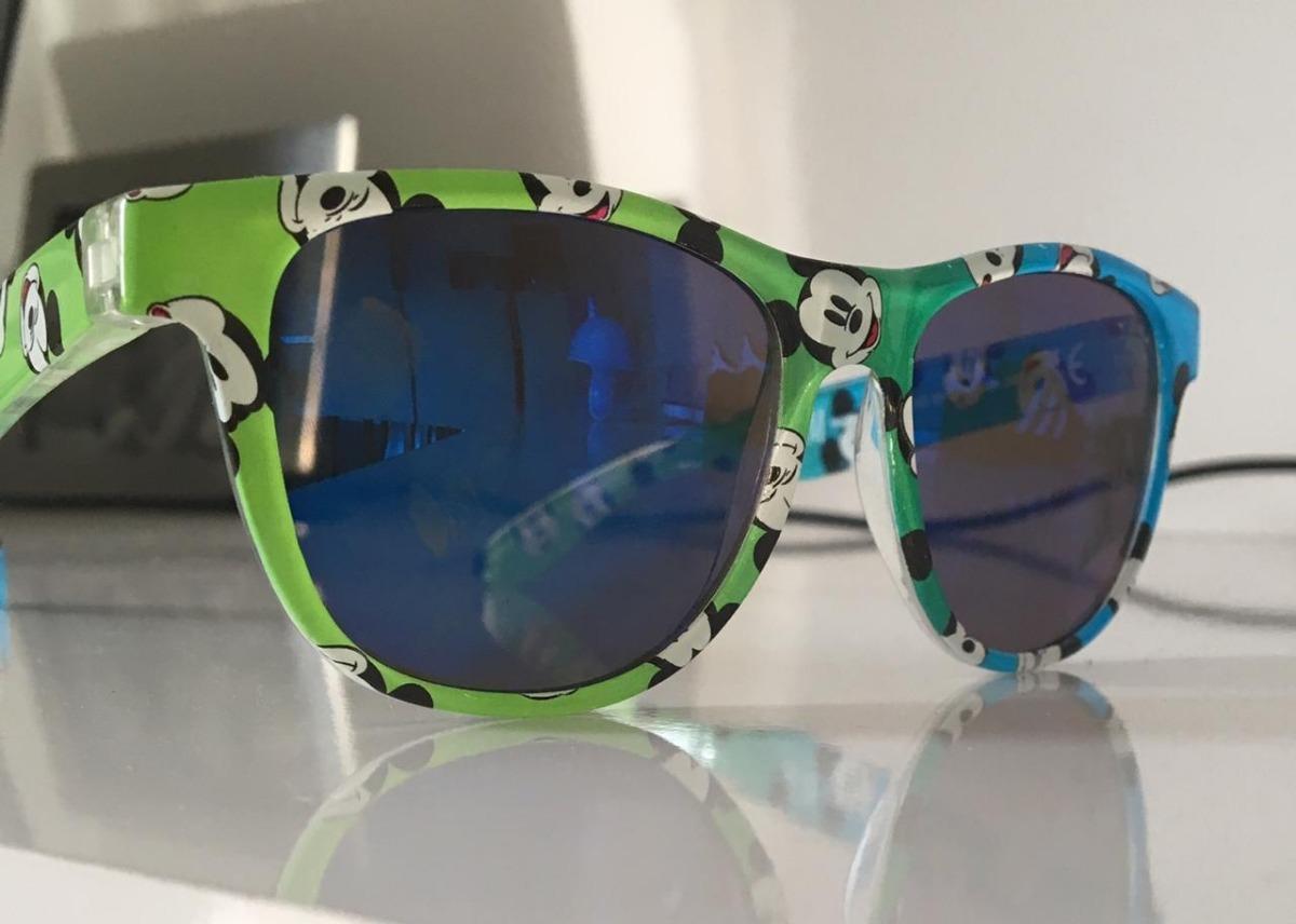 7df1d1c2dc0de Óculos De Sol H m Infantil Mickey Blue Greenish Cat.3 - R  66,00 em ...