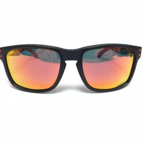 6871a28ad Oakley Holbrook Vr46 Preto Fosco C Logo Prata Original - Óculos no ...