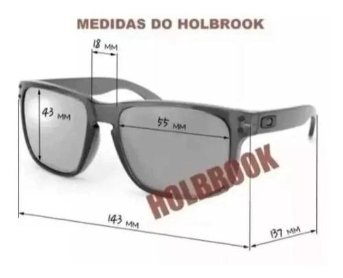 oculos de sol holbrook preto polarizado  feminino-masculino