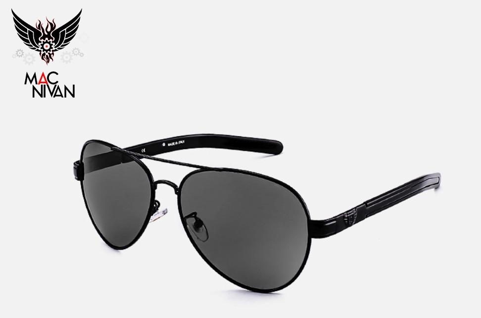 56e6ac83748fd óculos de sol homem polarizado masculino aviador 100%uva uvb. Carregando  zoom.